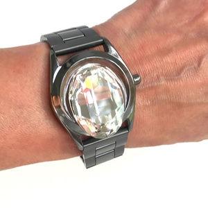 Maison Martin Margiela Gem Face Watch Bracelet